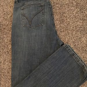 Venezia Low Rise bootcut denim jeans size 18 Tall